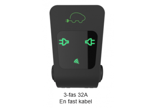 Ctek Chargestorm Connected 3-fas 32A med 1 fast kabe